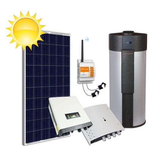 Nouveau kit à énergie solaire photovoltaïque WATT2O / Thermo